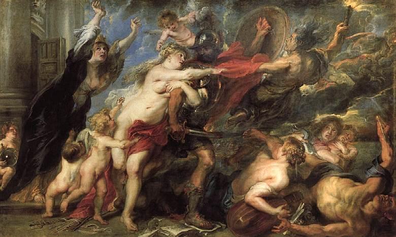 Рубенс / «Ужасы войны» / 1638