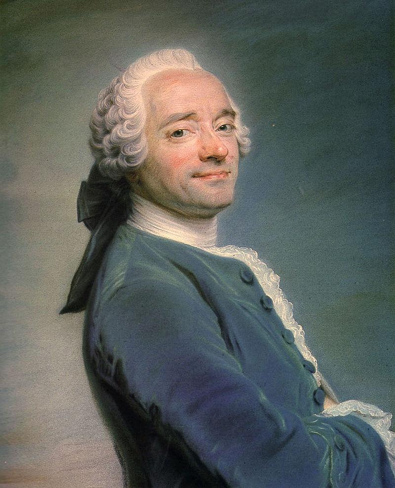 художник Морис Кантен де ЛАТУР (1704-1788) / «Автопортрет»