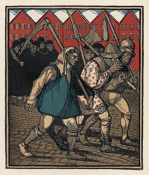 Рудольф Шистль / «Bauernkrieg» / 1910