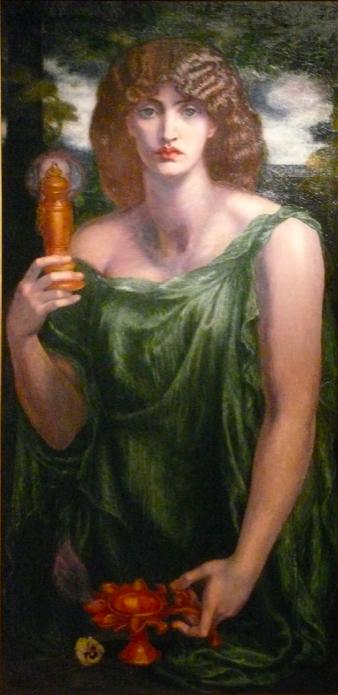Данте Габриэль Россетти / «Мнемозина» (также «Лампа памяти» и «Рикорданза») / 1875–81