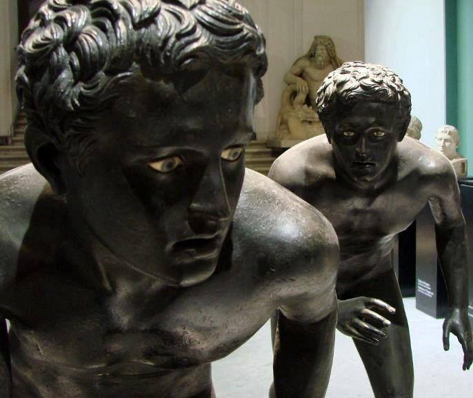 Unknown / «Статуи бегунов с виллы Папирусов» / Геркуланум / Римская копия греческого оригинала IV в. до н.э.