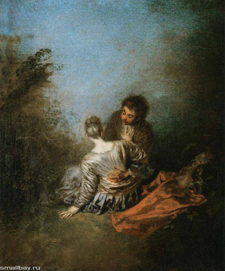 Антуан Ватто / «Грубая ошибка» / 1718
