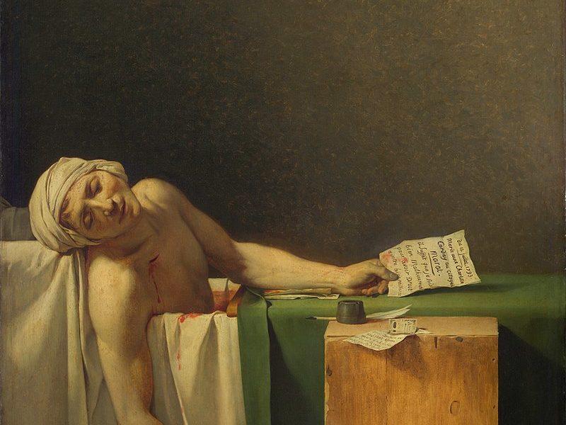 Жак Луи Давид / «Смерть Марата» / 1793