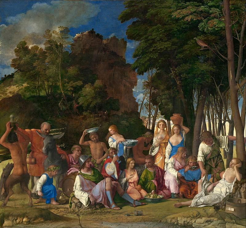 Джованни Беллини / «Пиршество богов» / 1514