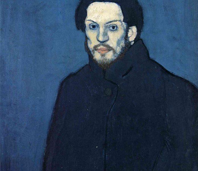 художник Пабло ПИКАССО (1881-1973) / «Автопортрет. 1901»